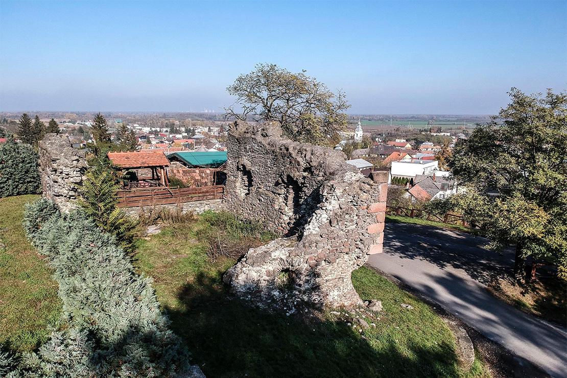 Csonkavár, Királyhelmec egyik szimbóluma